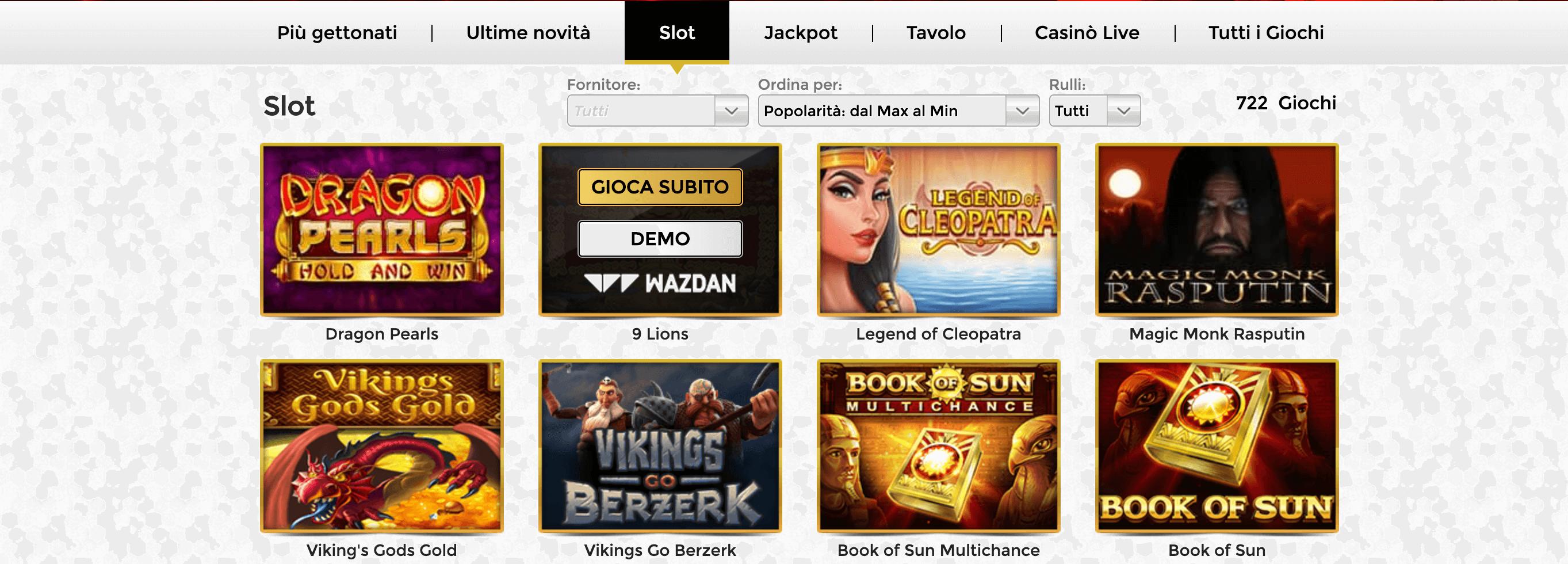 slot unique casino
