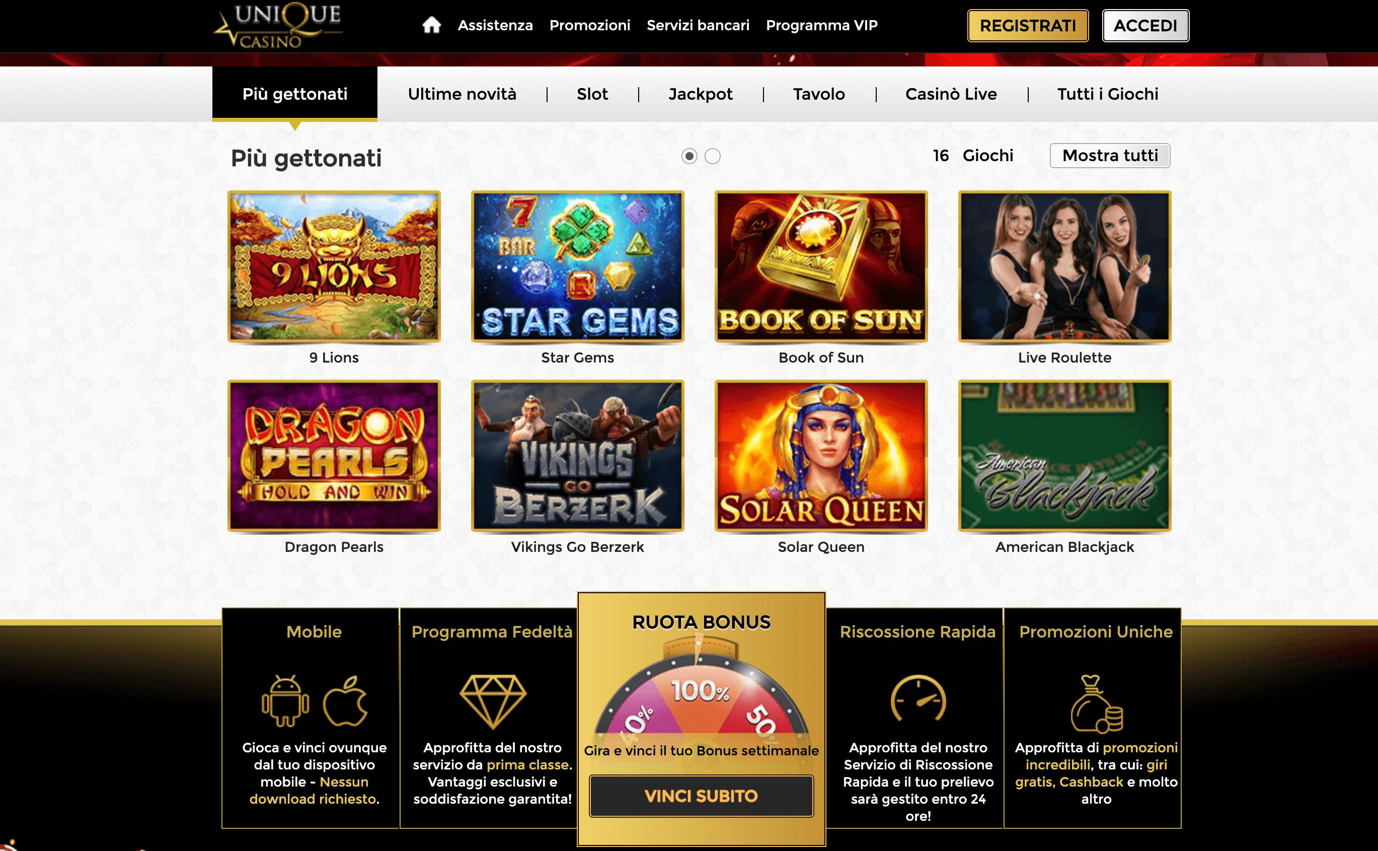 unique casino home