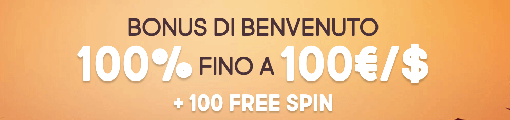 Gunsbet Casinò welcome bonus