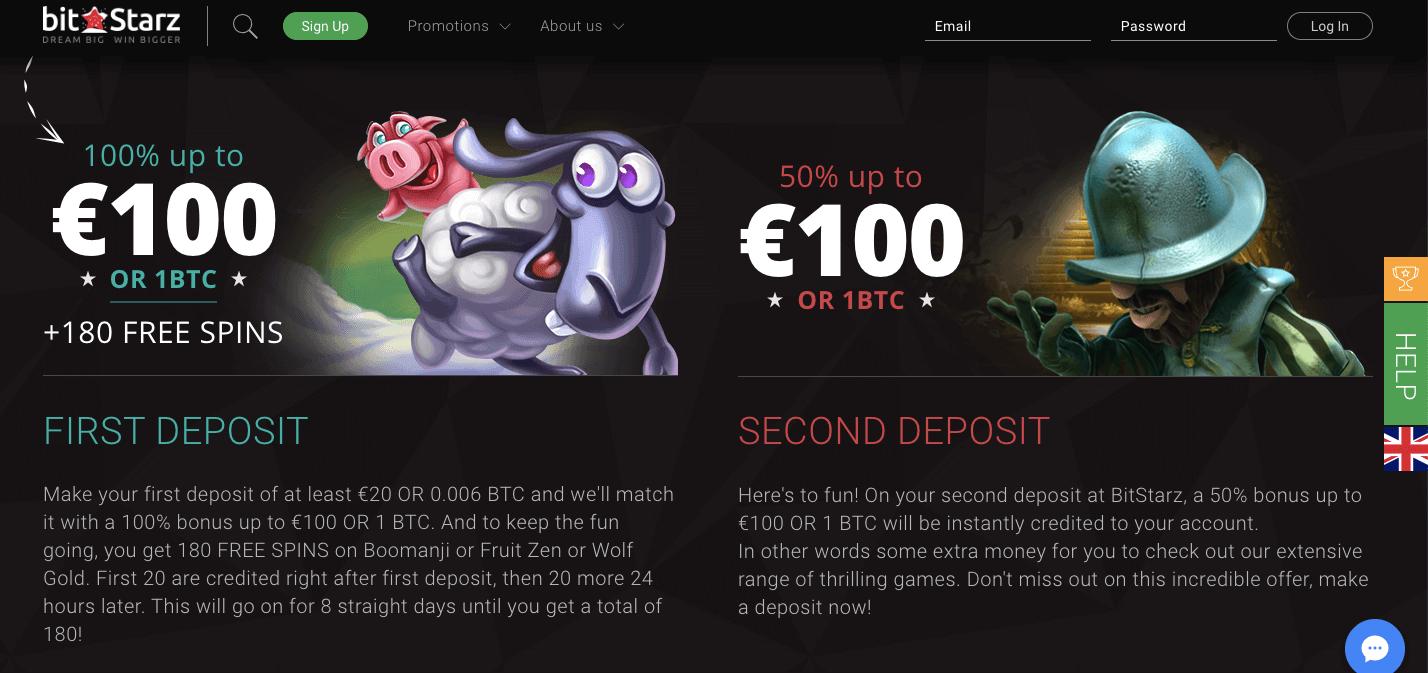 bitstarz casino bonus benvenuto