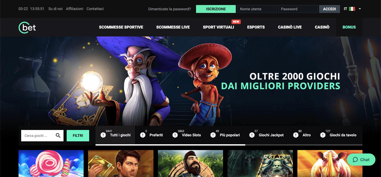 cbet casino homepage