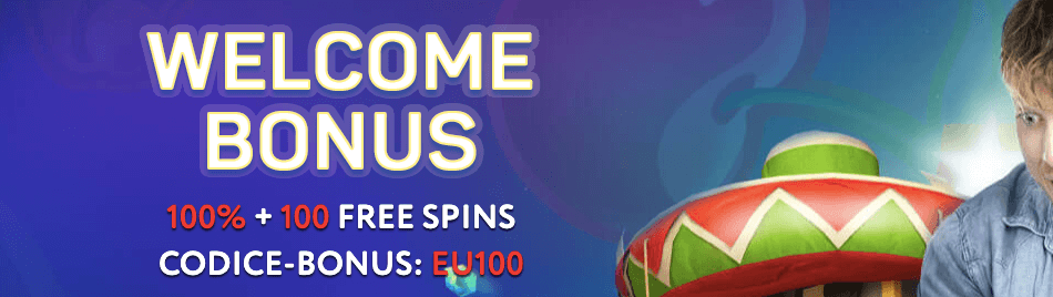 Euslot Casinò welcome bonus