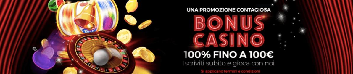 Winbrokes Casinò welcome bonus