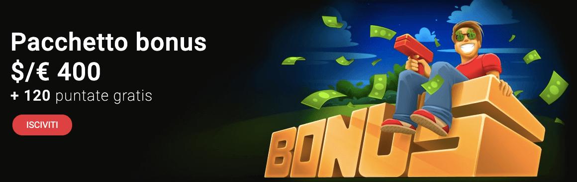 Casino Chan bonus benvenuto