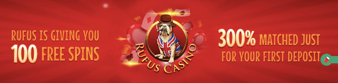 Rufus Casino bunus benvenuto