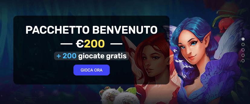 Woo Casino bonus benvenuto