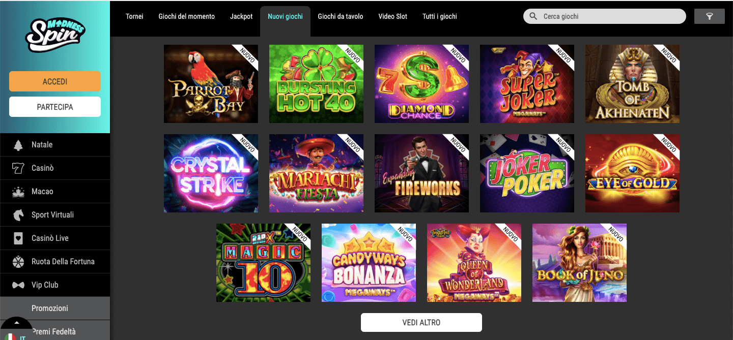 Spin Madness Slot