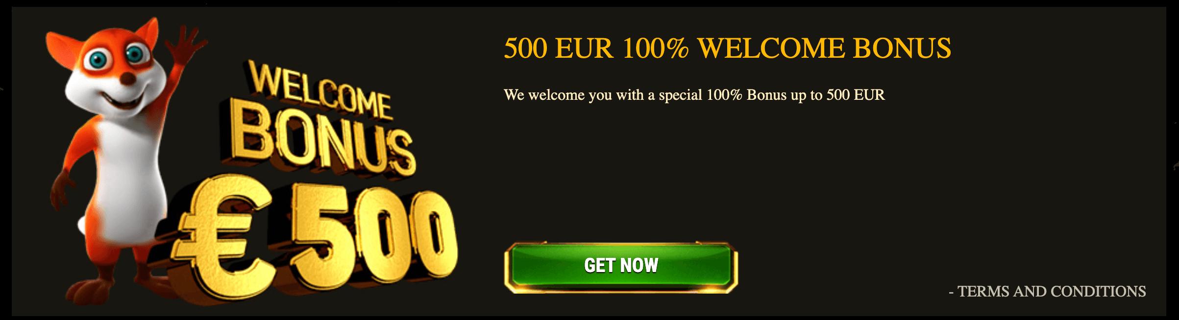 argo casino bonus benvenuto