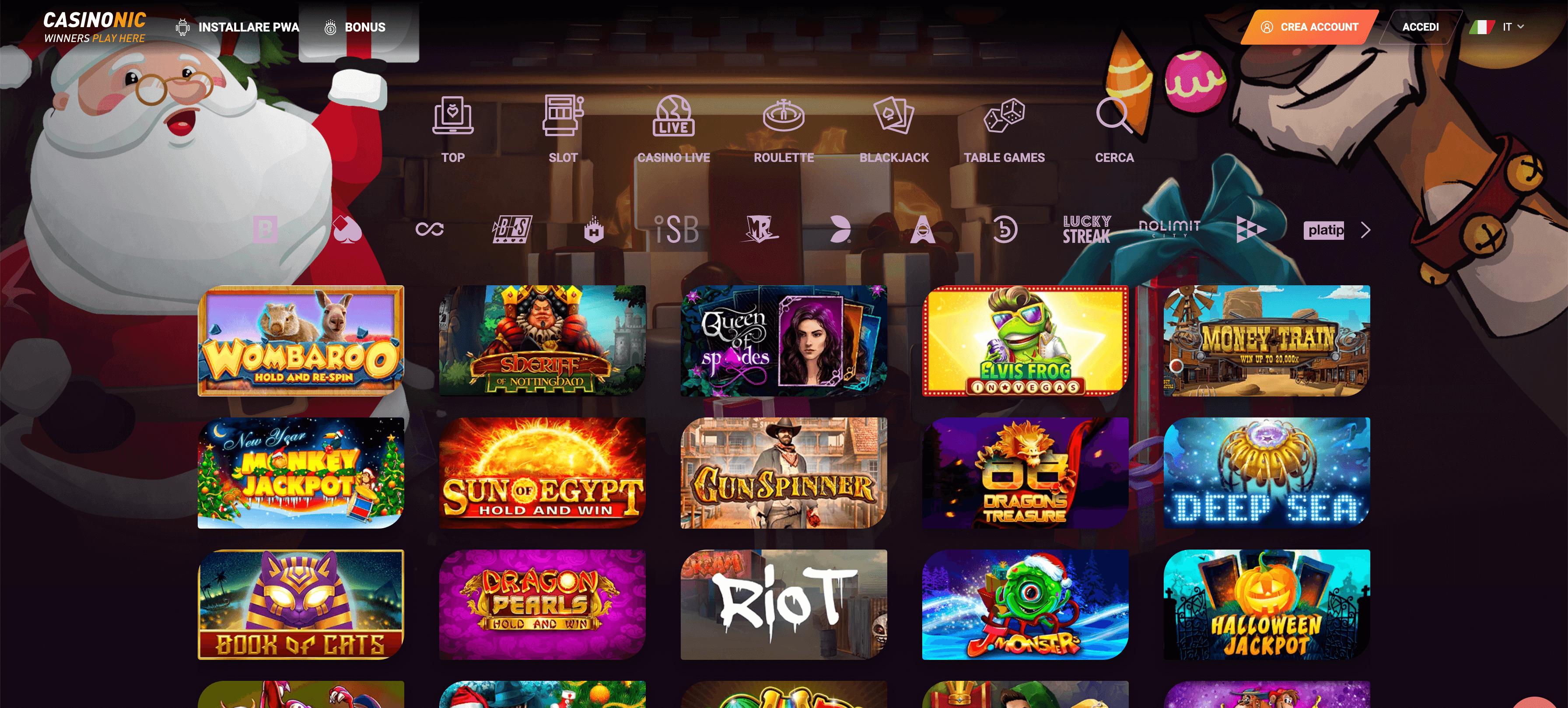 casinonic casino home