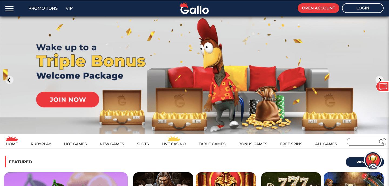 Gallo Casino Home