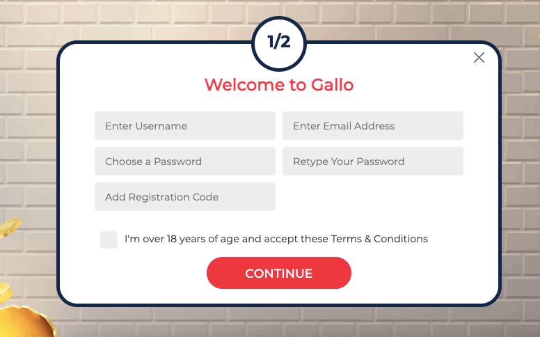 Gallo Casino Registrazione