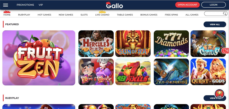Gallo Casino Slot