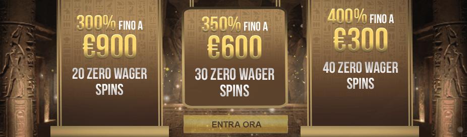 Osiris Casino Bonus Benvenuto
