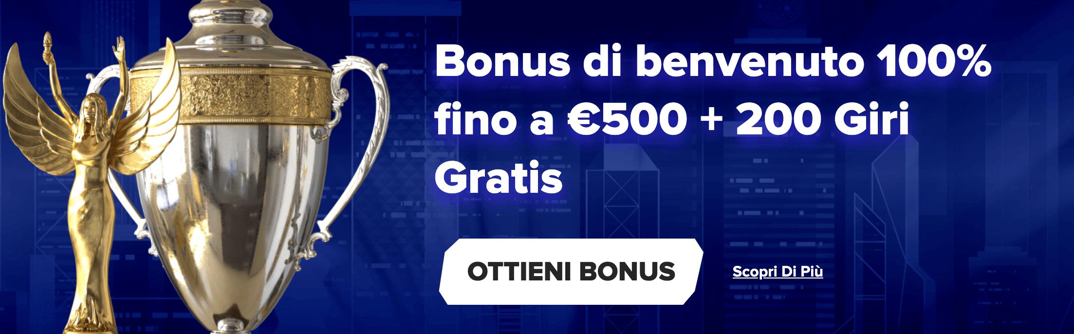 Sportaza Casino Bonus Benvenuto