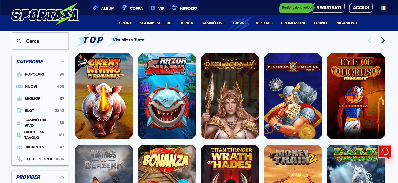 Sportaza Casino Slot