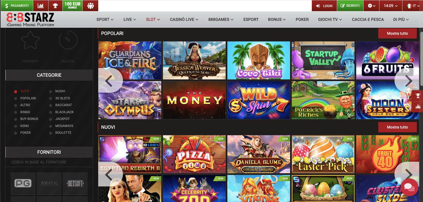 888starz Casino Slot