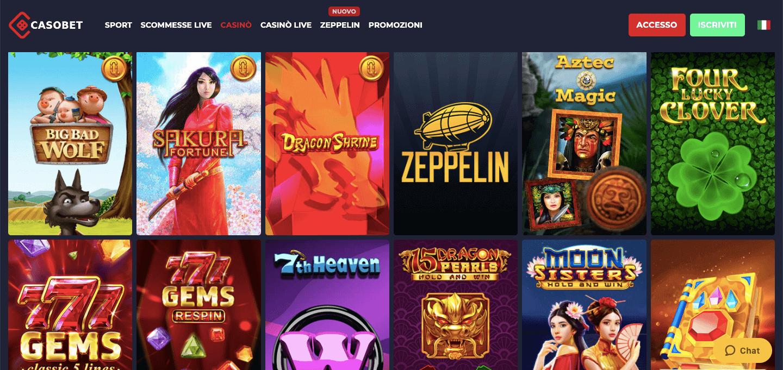 Casobet Casino Slot