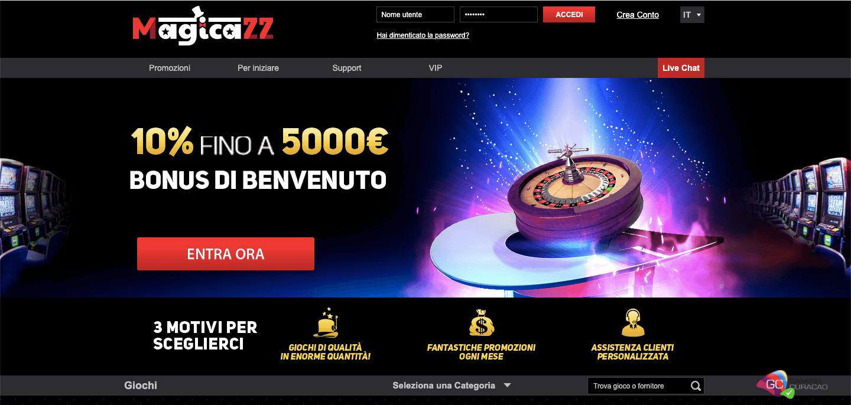 Magicazz Casino Home
