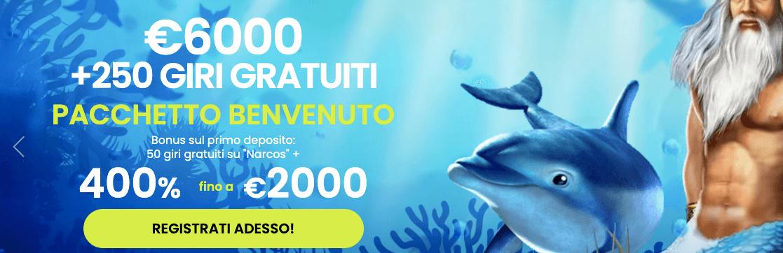 Maximal Wins Casino Bonus Benvenuto