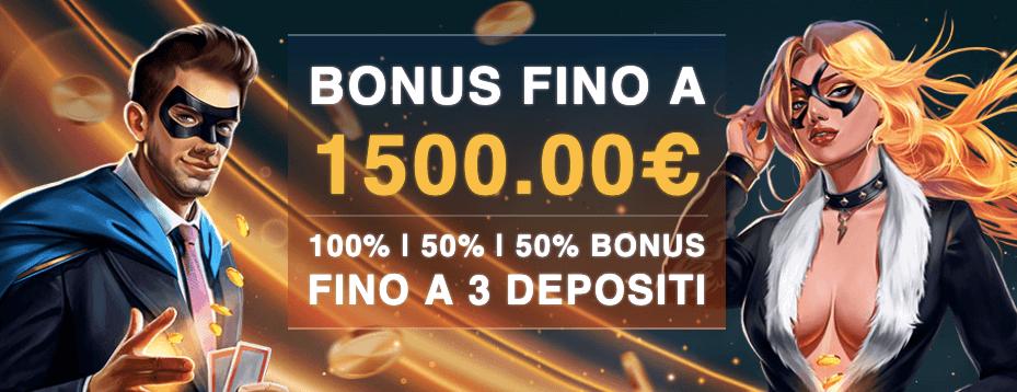 Power Casino Bonus Benvenuto