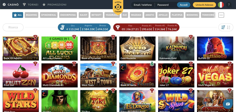 Power Casino Slot