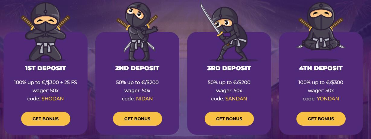 Casitsu Casino Bonus Benvenuto