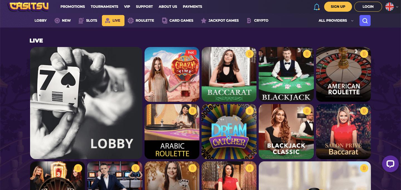 Casitsu Casino Slot Live