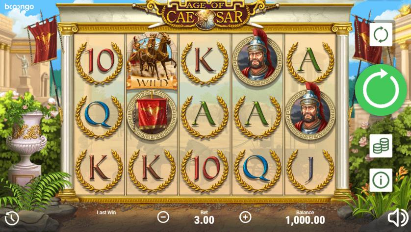 age of ceasar slot machine