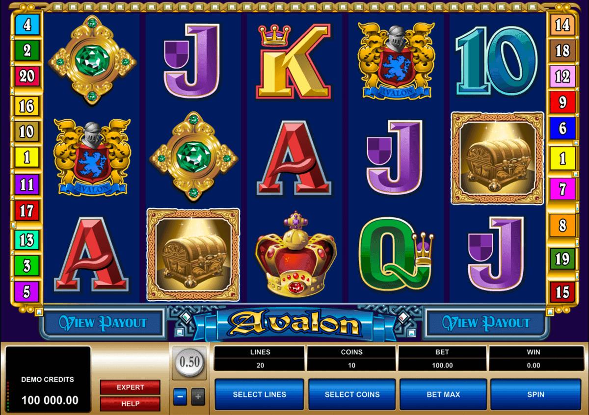 avalon slot machine