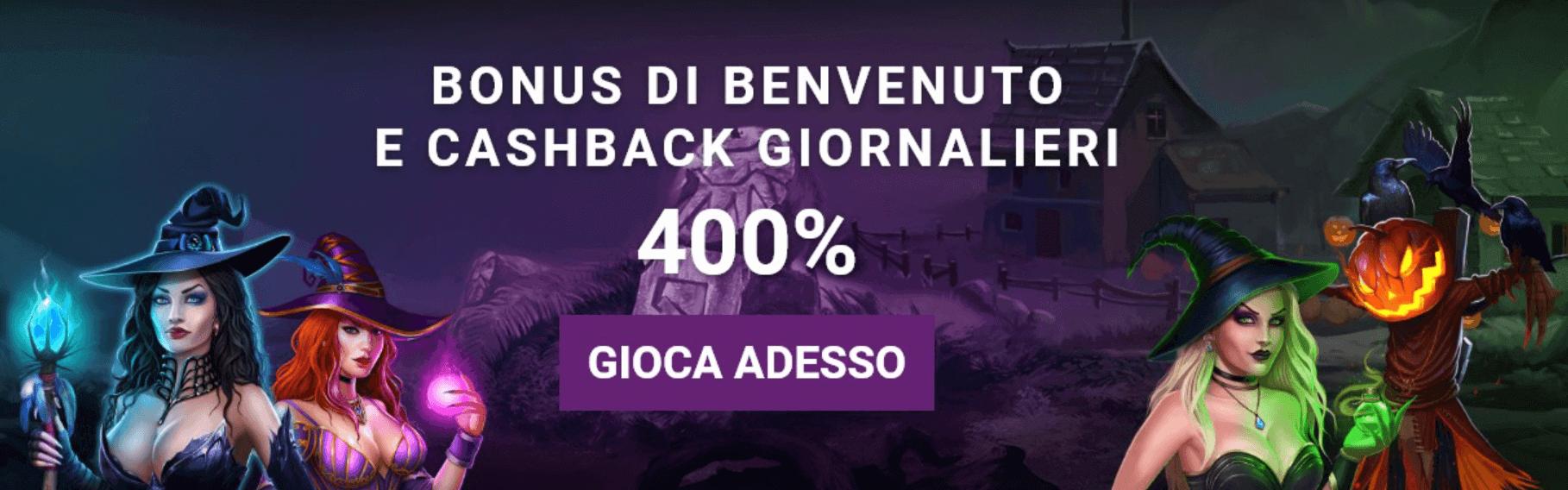 Black Magic Bonus Benvenuto