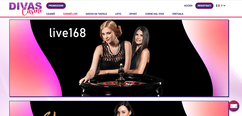 Divas Casino Slot Live