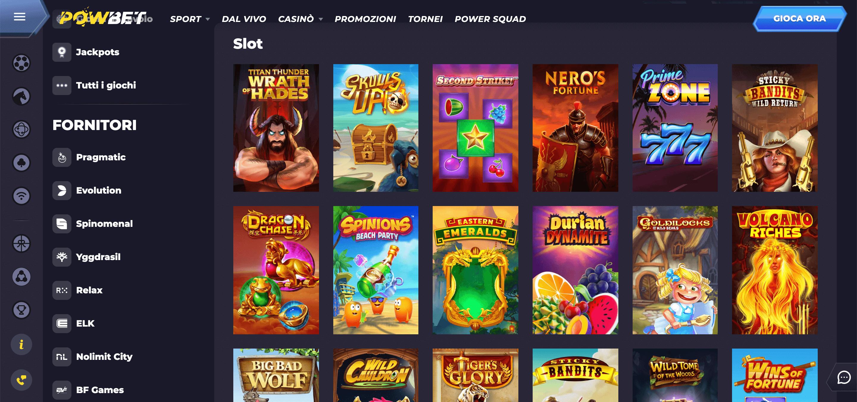 Powbet Casino Slot