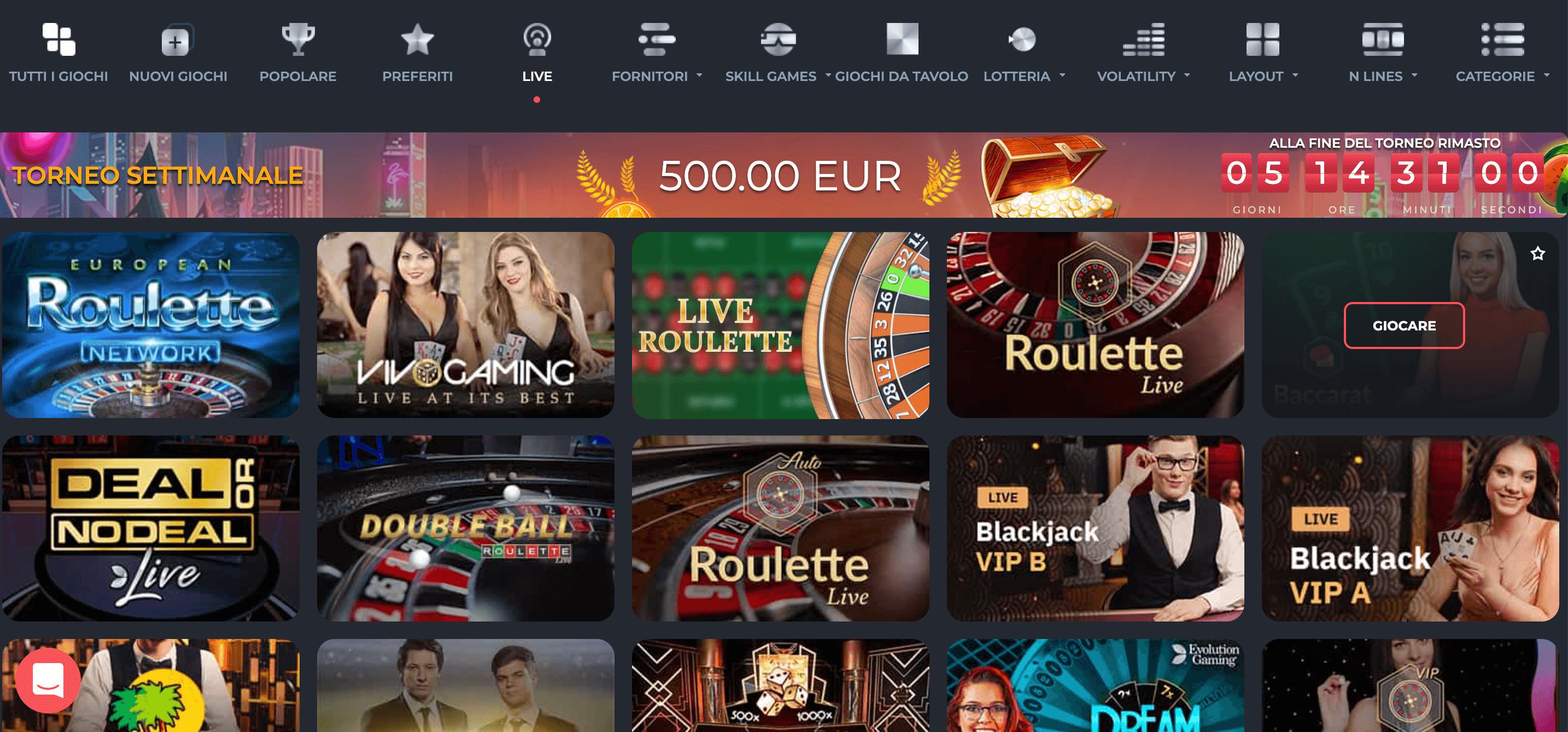 RichPrize Casino Slot Live
