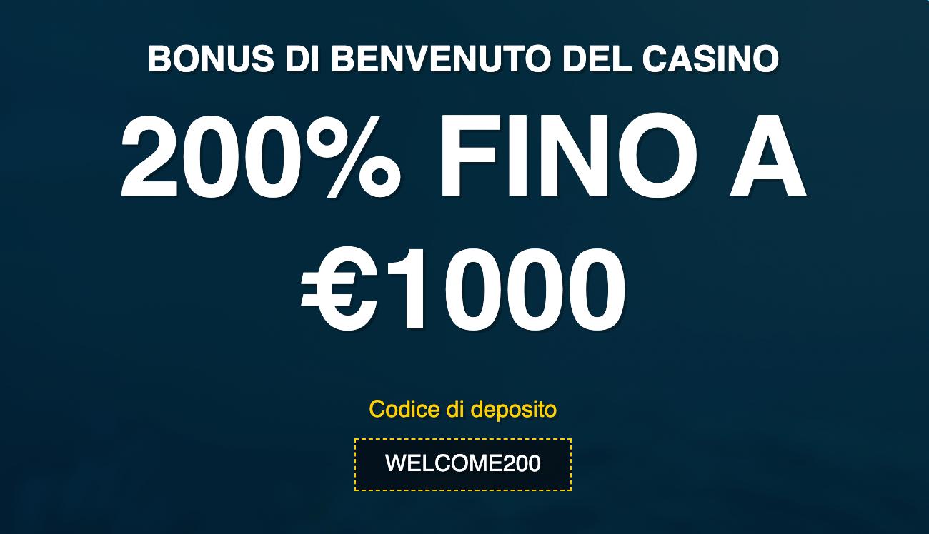 Slots N Bets Casino Bonus Bennvenuto