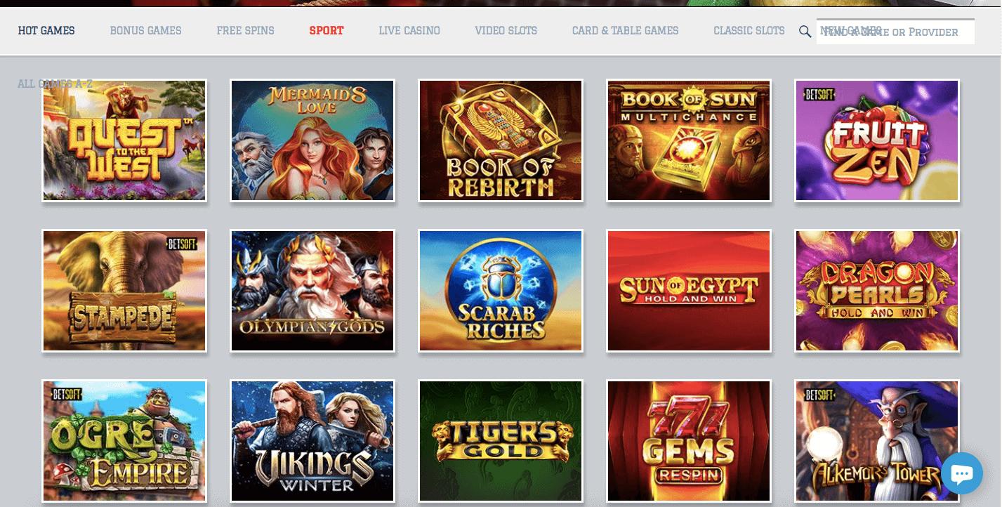 Lionel Bets Casino Slot